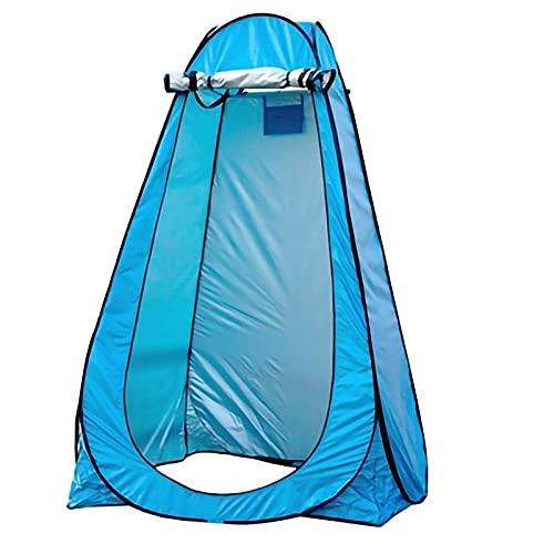 FYZS Tienda Ducha Cambiador Refugio de privacidad Pop Up tiend Shower Tiendas de Ducha para Vestir al Aire Libre vestidor Baño de baños Portátiles con Bolsa de Transporte