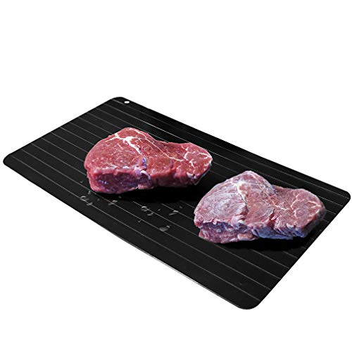 Evelots NEW Meat Defrosting Tray-Thaws Fast-Large Size-No Microwave/Electricity