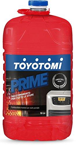 Toyotomi 2828547 Combustibile Universale Inodore per Stufe Portatili, Blu_10, 10 litri