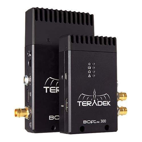 Teradek Bolt Pro 300 3G-SDI Wireless Transmitter and Receiver Set, 300' Range