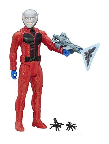 Marvel, Figurine d'Ant-Man avec équipement de la Série Titan Hero