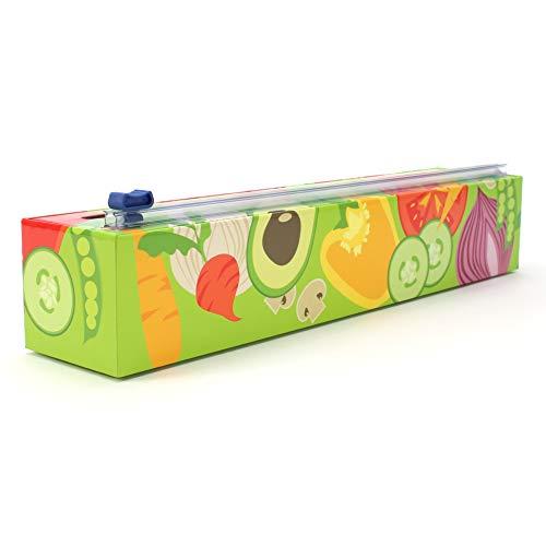 Chicwrap Veggies Refillable Plastic Wrap Dispenser