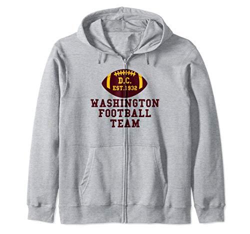 Vintage Washington DC Football Sports Team Gift 1932 Zip Hoodie