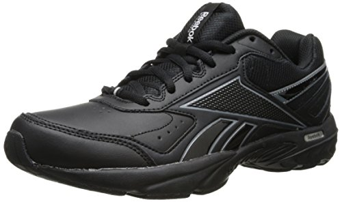 Reebok Men's Daily Cushion 2.0 rs-m, Black/Gravel/Flat Grey, 8 M US