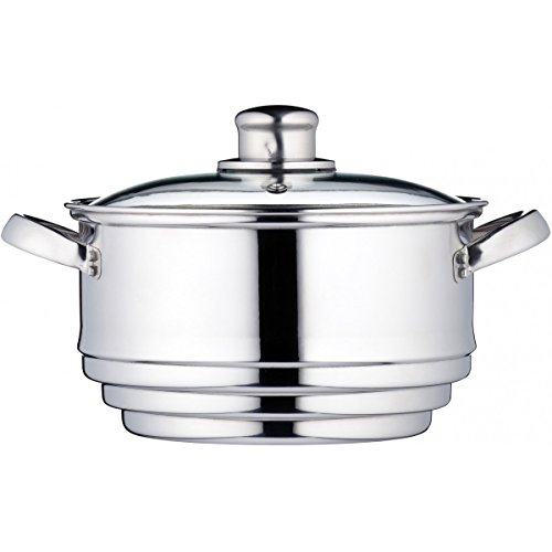 Kitchen Craft Clearview - Vaporiera Universale in Acciaio Inox