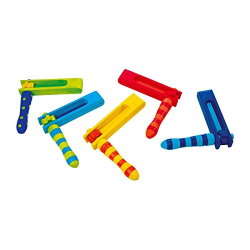 Small Foot 7708 Ratsche bunt, 5er Set