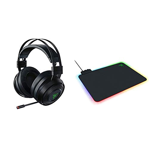 Razer Nari Ultimate Wireless 7.1 Surround Sound Gaming Headset,...