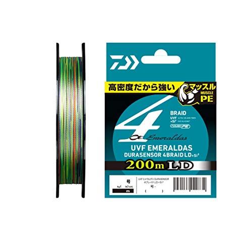 ダイワ(DAIWA) PEライン UVFエメラルダスデュラセンサーLD+Si2 0.6号 200m 5カラー