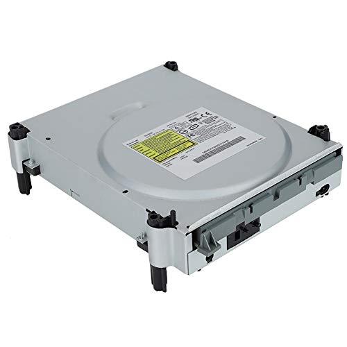 Wendry Lecteur DVD, Lecteur DVD Professionnel pour Console de Jeux, avec Performances Stables, résistance à l'usure et kit de Remplacement Durable et Compatible pour Xbox 360 DG-16D2S