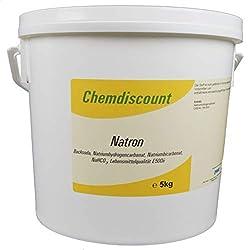 5kg Soda (baking soda, sodium bicarbonate, sodium bicarbonate, NaHCO3) food grade E500ii