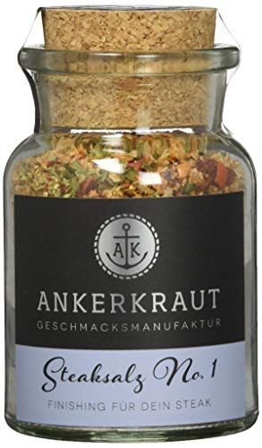 Ankerkraut Steaksalz No. 1, das perfekte finishing für dein Steak