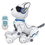 Remote Control Robot Dog, Smart Robot Dog Toy, Elektronischer Roboter, Programmier Intelligente Sprachsteuerung Roboter Hundespielzeug Für Kinder