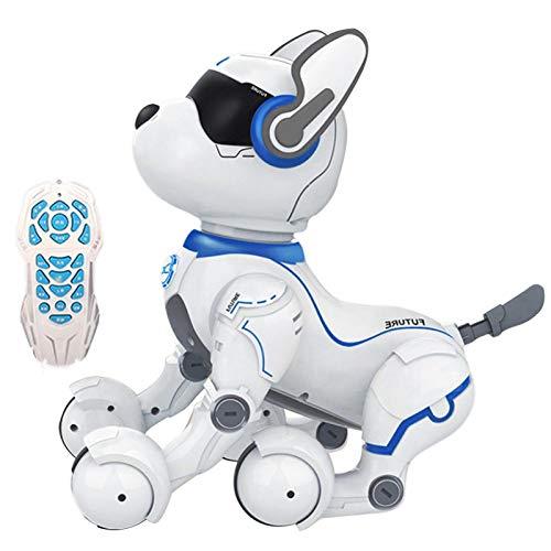 Remote Control Robot Dog, Smart Robot Dog Toy, Elektronischer Roboter, Programmier Intelligente Sprachsteuerung Roboter...