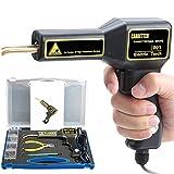 Máquina de soldadura profesional para coche, 220 V, para parachoques, reparación de grietas, kit de soldadura de plástico, enchufe europeo