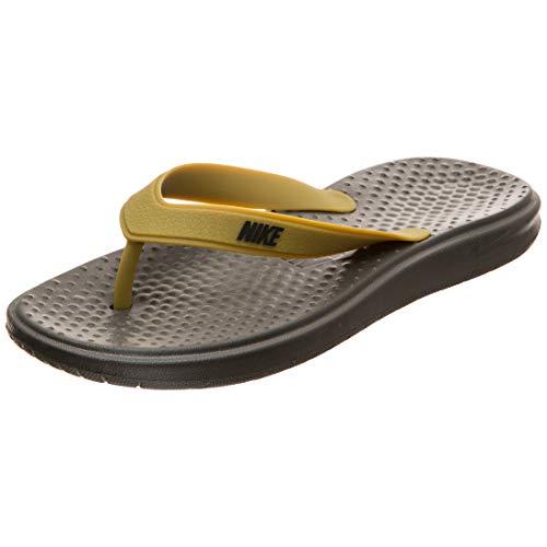 Nike Solay Thong, Zapatos de Playa y Piscina Hombre, Verde (Cargo Khaki/White Khaki/White), 44 EU