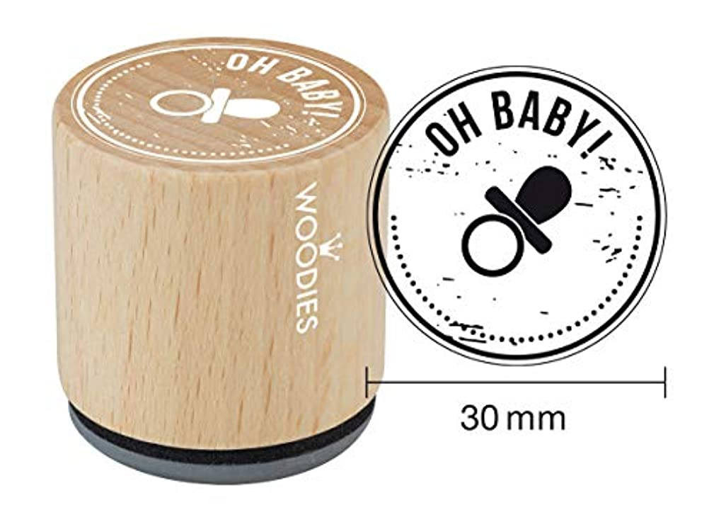 WOODIES Baby Themed Stamp