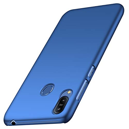 anccer Asus Zenfone Max (M2) ZB633KL Hülle, [Serie Matte] Elastische Schockabsorption & Ultra Thin Design für Zenfone Max (M2) ZB633KL (Glattes Blau)