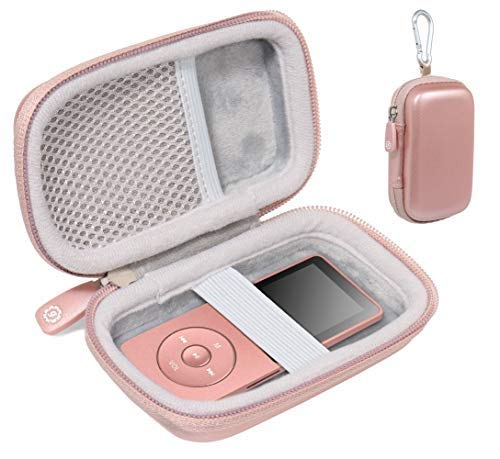 getgear Carrying case for MP3 & MP4 Player Like Soulcker, G.G.Martinsen, Grtdhx, iPod Nano, Sandisk Music Player, Sony WF1000X/BM1 /B Walkman and Other Music Players