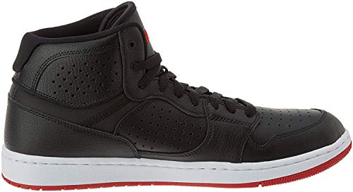 Nike Jordan Access, Zapatos de Baloncesto para Hombre, Multicolor (Black/Gym Red/White 001), 46 EU