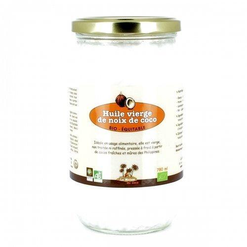 La Maison Du Coco - LA MAISON DU COCO - Huile vierge de noix de coco bio & équitable 780 ml - Philippines