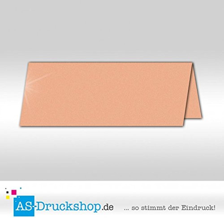 Große Tischkarte Platzkarte - Pfirsich - Perlmutt-Glanz 100 Stück Stück Stück 13,2 x 5,1 cm B079PZN1SM | Wonderful  ce6a24