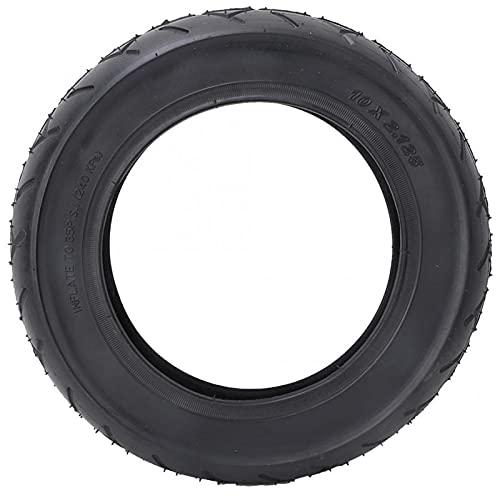 JTYX Neumático para Patinete eléctrico, Neumático a Prueba de explosiones de 10 Pulgadas, Neumáticos sólidos Rueda Delantera/Trasera Rueda de Scooter Rueda de Repuesto