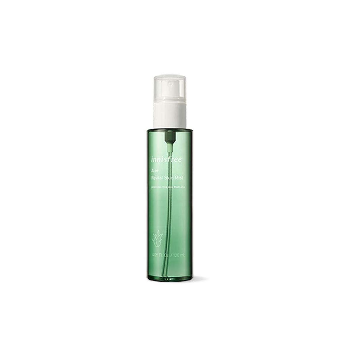 キー被害者ペイントイニスフリー Innisfree アロエ リバイタル スキンミスト(120ml)2015.6. Innisfree Aloe Revital Skin Mist(120ml) [海外直送品]