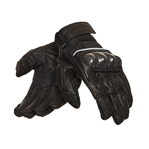 Royal Enfield Short Riding Gloves Black M 21CM(RRGGLH000062)