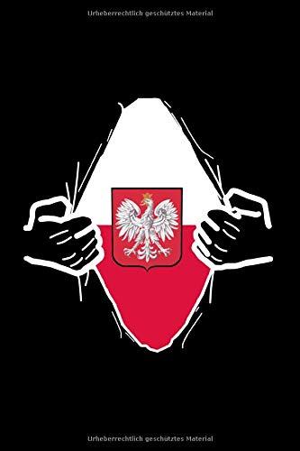 Polen: Polen I Flagge I Notizbuch I Tagebuch I Logbuch