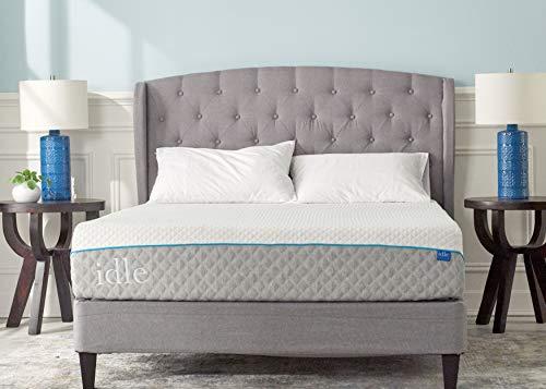 Idle Sleep 12 Inch Gel Foam Mattress (Queen)