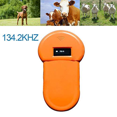 MMUY-1 Animales Microchip Escáner, Animales De Granja Chip Reader, ISO11784 / 11785, FDX-B, Adecuados para Una Gestión Ordenada De Los Animales En Granjas/Ranchos