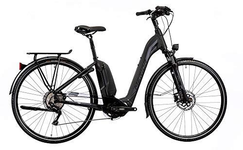 mächtig Unbekannt Merida Espresso City 600 EQ E-Bike 500Wh E-Trekking Schwarz / Silber 2019, Rahmengröße 49 cm