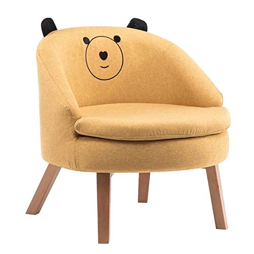 Ready Steady Bed Childrens Toddlers Armchair Girl Boy Schlafzimmer Playroom Seating Sofa Chair,Yellowbear
