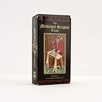 Medieval Scapini Tarot Deck  French Edition