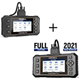 FOXWELL NT644E All System Scanner with 19 Service Reset and NT624 Elite Car Diagnostic Scanner for All Cars