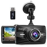 Innosinpo Dash Cam 1080P Full HD Car Dash Camera with F1.8 Night Vision