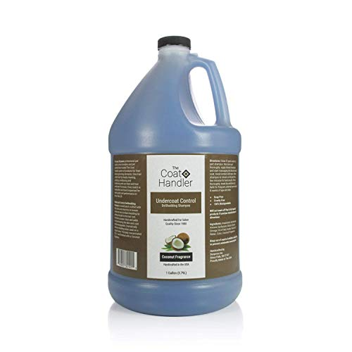 The Coat Handler Undercoat Control deShedding Dog Shampoo, 1 Gallon - Combats and Reduces Shedding, Undercoat Removal, Omega 3 & 6 Rich, Vitamin E Strengthens The Hair Follicle, Natural Ingredients