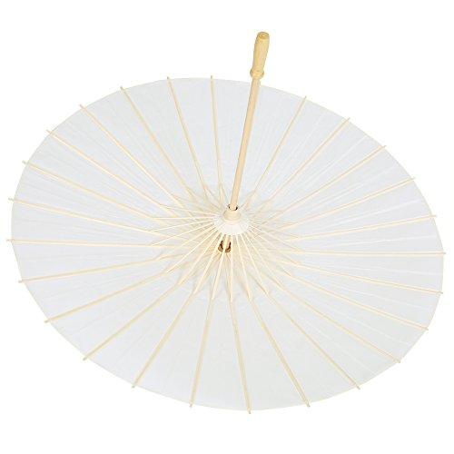 Paraguas De Papel Decorativo, Paraguas De Papel De Boda Romántico Y Elegante Paraguas De Papel Fuerte Y Resistente Parasol para Boda para Prop