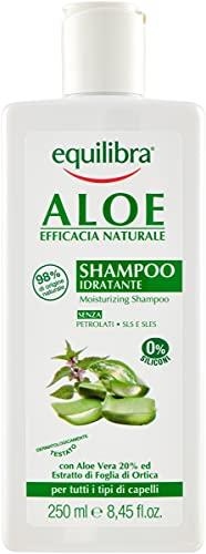 Equilibra Aloe Shampoo Idratante, 250 ml