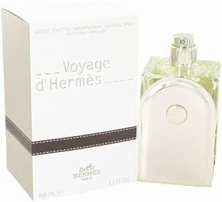 New - Voyage D'Hermes by Hermes - Eau De Toilette Spray Refillable 3.3 oz - 467288