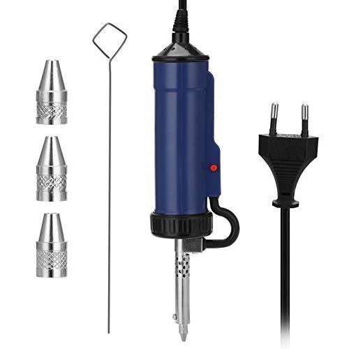 KKmoon - Ventosa para soldadura, aspiradora eléctrica, bomba de desoldadura, soldadura, eléctrica,...