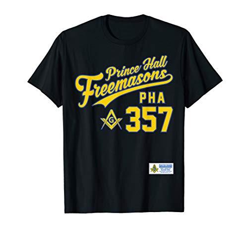 Masonic Shirt Prince Hall PHA 357 Sports Jersey Style Shirt