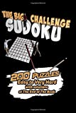 The Big Sudoku Challenge: 200 Puzzles Easy to Very Hard - with solutions at The End of The Book - sudoku crafters - Exercise your Brain! Size 6'x9' inches - Book Small