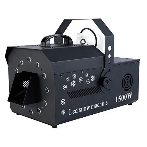5. Tengchang 1500W DMX-512 LED Snow Machine