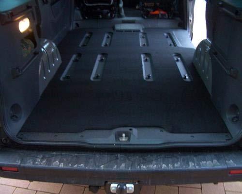 DSX Kofferraummatte Gastraum Teppich Fußmatten Opel Vivaro B Combi ab 8/2014#482mitLüft