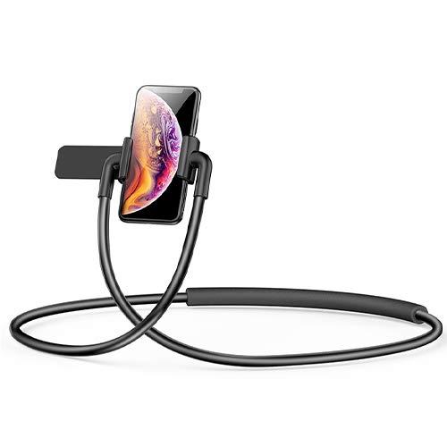 Forward Mobile telefoonrek luie standaard. Opknoping hals-hals-gemonteerde multifunctionele universele steunplank. kijken live TV op de godin bed