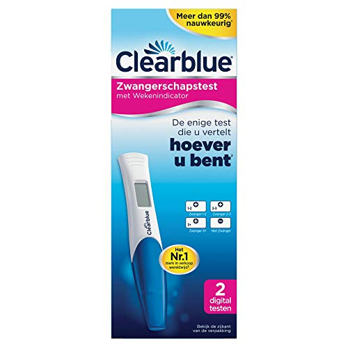 Clearblue - Test Di Gravidanza Digitale Con Indicatore Delle Settimane - 2 Pezzo