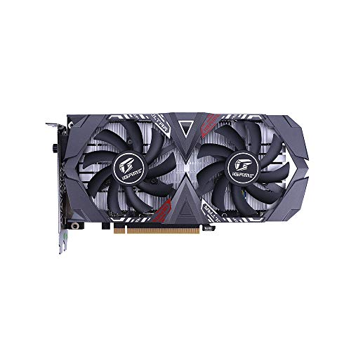 Docooler Colorful Grafikkarte iGame GeForce GTX 1650 Gaming Grafikkarte SUPER Ultra OC 4G GDDR6