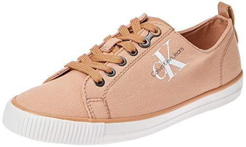 Calvin Klein Jeans Dora Canvas, Zapatillas, Rosa (Dsk 000), 35 EU