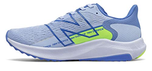 New Balance Women's FuelCell Propel V2 Running Shoe, Blue/Green, 6.5 W US